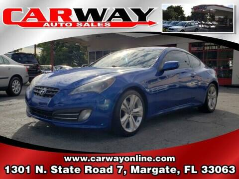 2010 Hyundai Genesis Coupe for sale at CARWAY Auto Sales in Margate FL