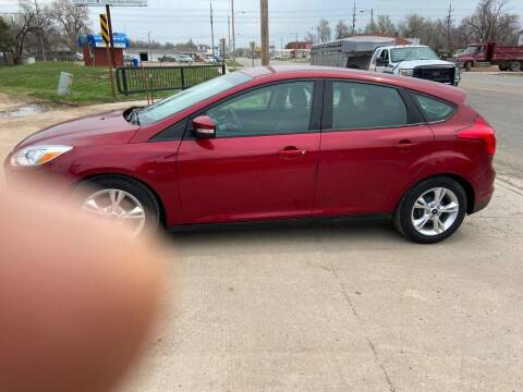 2014 Ford Focus for sale at Koehn's Auto Sales and OK Car Rentals in Mcpherson KS