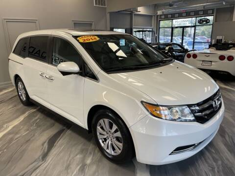 2014 Honda Odyssey for sale at Crossroads Car & Truck in Milford OH