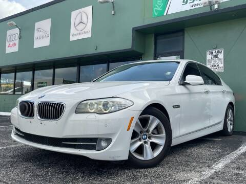 2012 BMW 5 Series for sale at KARZILLA MOTORS in Oakland Park FL