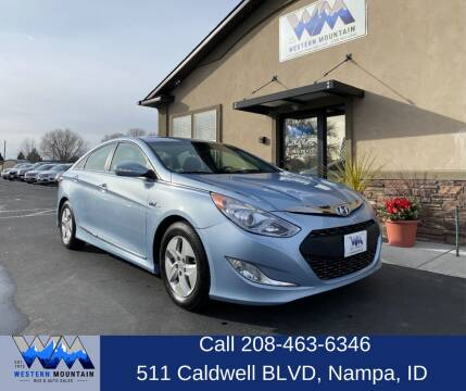 2012 Hyundai Sonata Hybrid for sale at Western Mountain Bus & Auto Sales in Nampa ID