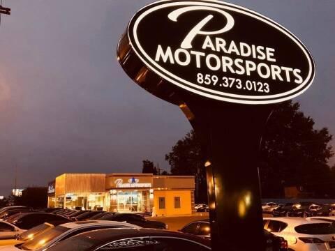 2021 Toyota RAV4 for sale at Paradise Motor Sports LLC in Lexington KY