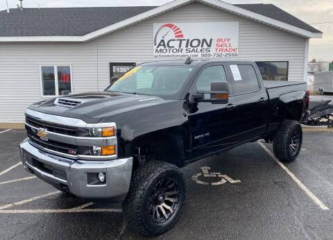 2019 Chevrolet Silverado 2500HD for sale at Action Motor Sales in Gaylord MI