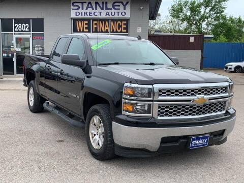 2014 Chevrolet Silverado 1500 for sale at Stanley Automotive Finance Enterprise - STANLEY DIRECT AUTO in Mesquite TX