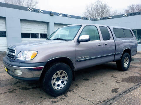2002 Toyota Tundra for sale at J & M PRECISION AUTOMOTIVE, INC in Fort Collins CO