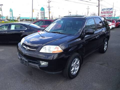 2001 Acura MDX for sale at Wilson Investments LLC in Ewing NJ