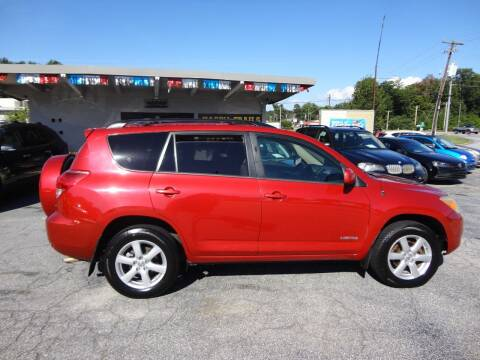 2007 Toyota RAV4 for sale at HAPPY TRAILS AUTO SALES LLC in Taylors SC