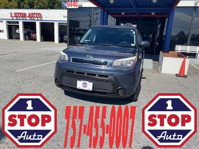 2015 Kia Soul for sale at 1 Stop Auto in Norfolk VA