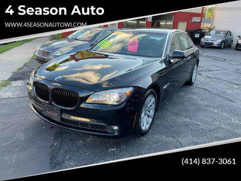 2009 BMW 7 Series for sale at 4 Season Auto in Milwaukee WI