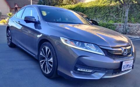 2016 Honda Accord for sale at Apollo Auto El Monte in El Monte CA