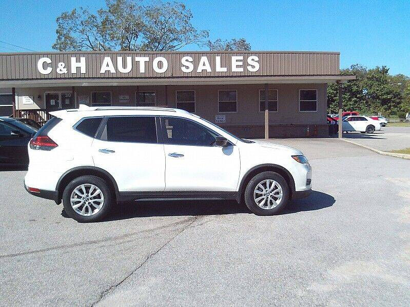 2017 Nissan Rogue for sale at C & H AUTO SALES WITH RICARDO ZAMORA in Daleville AL