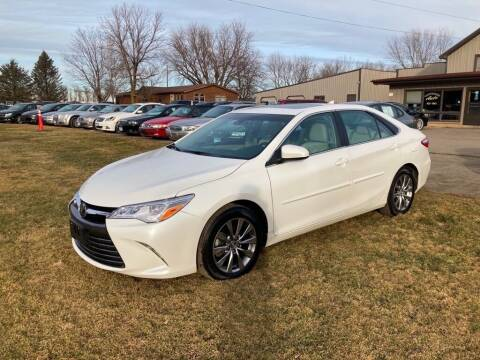 2016 Toyota Camry for sale at COUNTRYSIDE AUTO INC in Austin MN