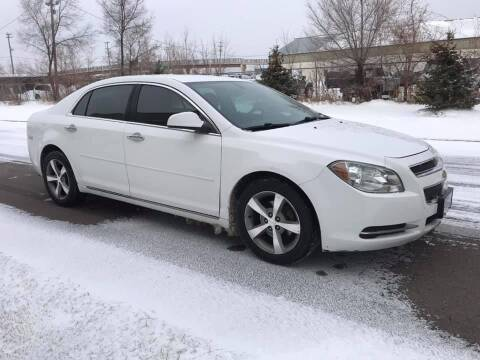 2012 Chevrolet Malibu for sale at Angies Auto Sales LLC in Newport MN