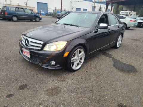 2008 Mercedes-Benz C-Class for sale at Kingz Auto LLC in Portland OR
