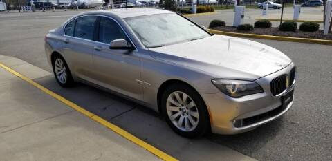 2010 BMW 7 Series for sale at RVA Automotive Group in North Chesterfield VA