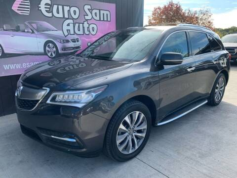 2014 Acura MDX for sale at Euro Auto in Overland Park KS