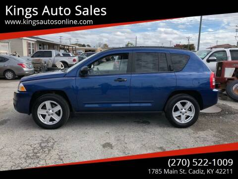2009 Jeep Compass for sale at Kings Auto Sales in Cadiz KY
