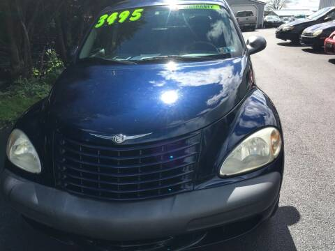 2002 Chrysler PT Cruiser for sale at BIRD'S AUTOMOTIVE & CUSTOMS in Ephrata PA