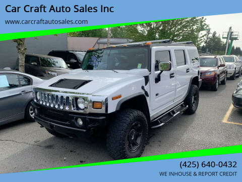 2003 HUMMER H2 for sale at Car Craft Auto Sales Inc in Lynnwood WA