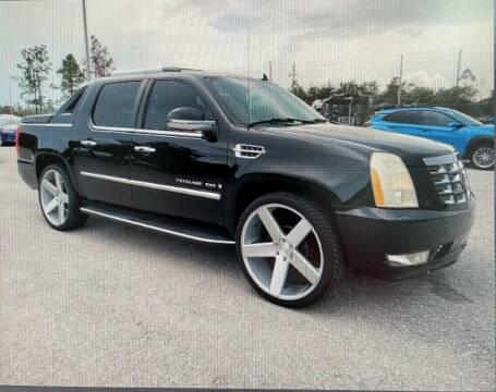 2007 Cadillac Escalade EXT for sale at L G AUTO SALES in Boynton Beach FL