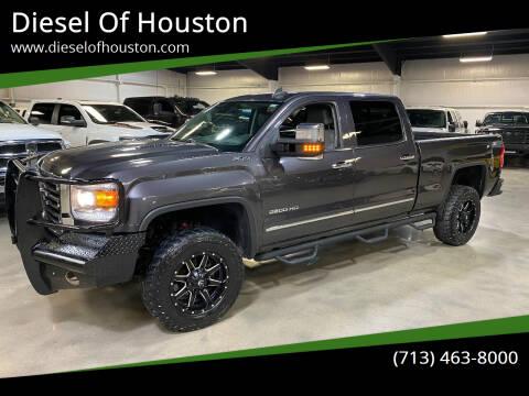 2015 GMC Sierra 2500HD for sale at Diesel Of Houston in Houston TX
