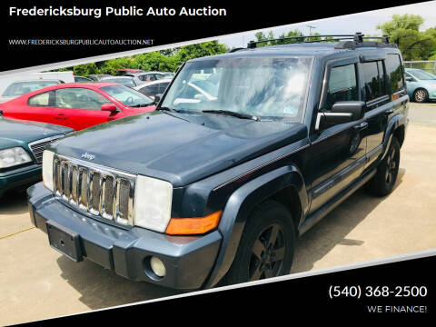 2007 Jeep Commander for sale at FPAA in Fredericksburg VA