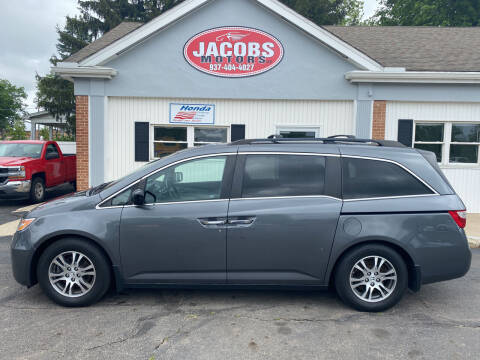 2012 Honda Odyssey for sale at Jacobs Motors LLC in Bellefontaine OH