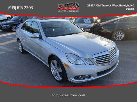 2011 Mercedes-Benz E-Class for sale at Complete Auto Center , Inc in Raleigh NC