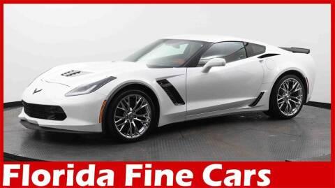 2016 Chevrolet Corvette for sale at Florida Fine Cars - West Palm Beach in West Palm Beach FL