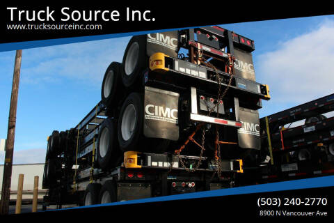 2021 CIMC 40' GN Tandem for sale at Truck Source Inc. in Portland OR