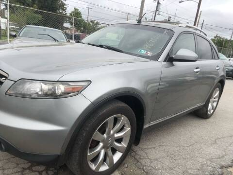 2008 Infiniti FX35 for sale at Philadelphia Public Auto Auction in Philadelphia PA