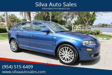 2008 Audi A3 for sale at Silva Auto Sales in Pompano Beach FL