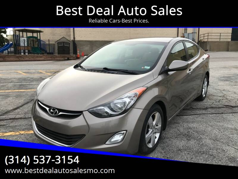 2013 Hyundai Elantra for sale at Best Deal Auto Sales in Saint Charles MO