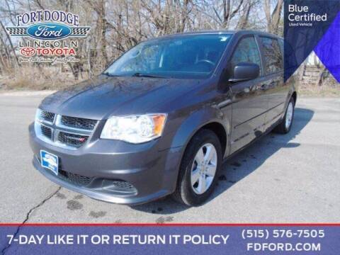 2016 Dodge Grand Caravan for sale at Fort Dodge Ford Lincoln Toyota in Fort Dodge IA
