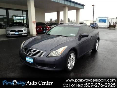 2010 Infiniti G37 Coupe for sale at PARKWAY AUTO CENTER AND RV in Deer Park WA