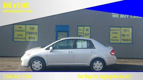 2009 Nissan Versa for sale at BIG #1 INC in Brownstown MI
