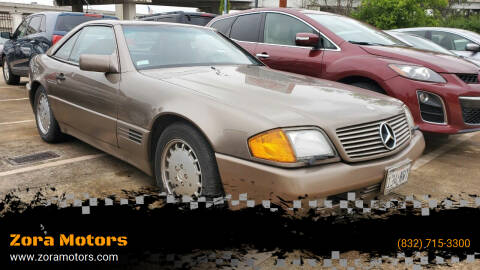 1991 Mercedes-Benz 300-Class for sale at Zora Motors in Houston TX