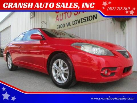 2008 Toyota Camry Solara for sale at CRANSH AUTO SALES, INC in Arlington TX