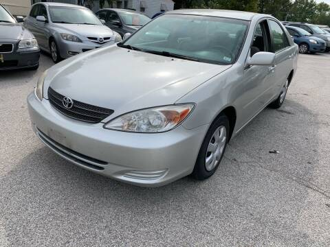 2002 Toyota Camry for sale at STL Automotive Group in O'Fallon MO