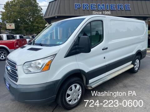 2016 Ford Transit Cargo for sale at Premiere Auto Sales in Washington PA