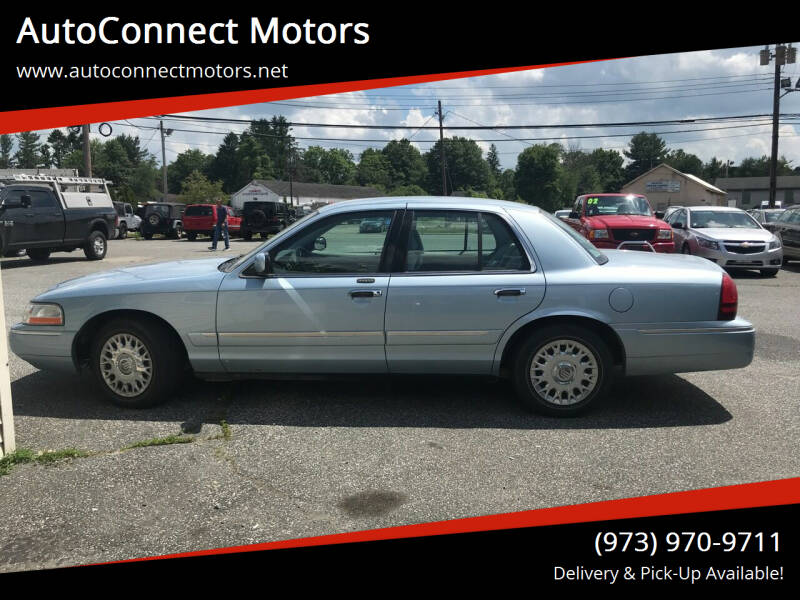 2003 Mercury Grand Marquis for sale at AutoConnect Motors in Kenvil NJ