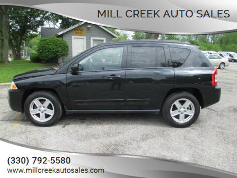 2009 Jeep Compass for sale at Mill Creek Auto Sales in Youngstown OH