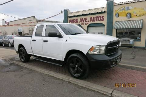 2015 RAM Ram Pickup 1500 for sale at PARK AVENUE AUTOS in Collingswood NJ
