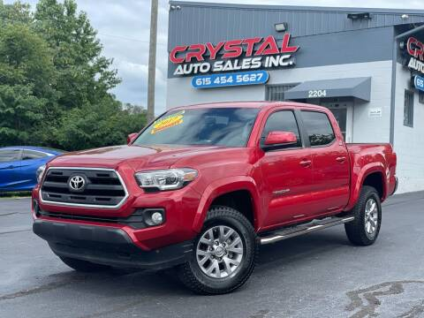 2017 Toyota Tacoma for sale at Crystal Auto Sales Inc in Nashville TN