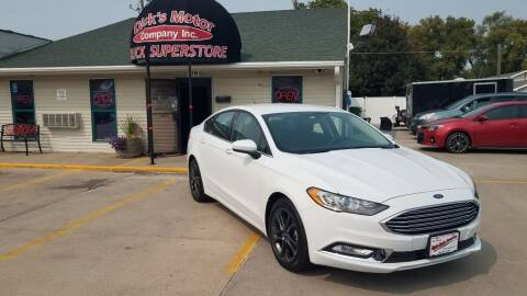 2018 Ford Fusion for sale at DICK'S MOTOR CO INC in Grand Island NE