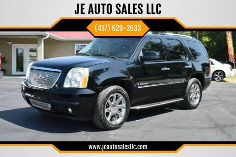 2009 GMC Yukon for sale at JE AUTO SALES LLC in Webb City MO