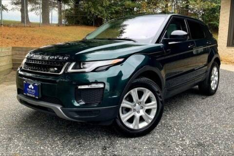 2017 Land Rover Range Rover Evoque for sale at TRUST AUTO in Sykesville MD