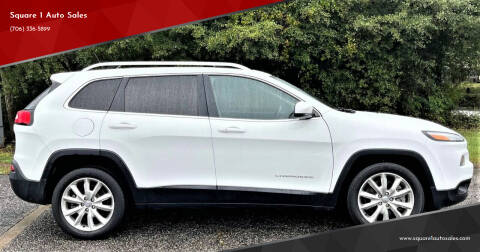 2015 Jeep Cherokee for sale at Square 1 Auto Sales - Commerce in Commerce GA