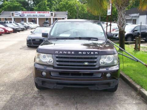 2009 Land Rover Range Rover Sport for sale at Louisiana Imports in Baton Rouge LA