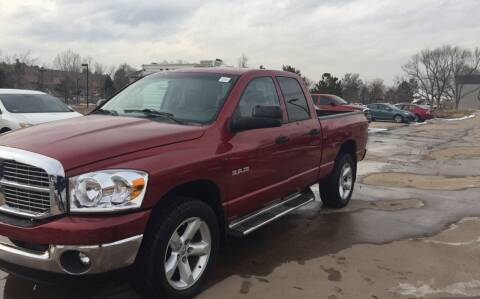2008 Dodge Ram Pickup 1500 for sale at QUEST MOTORS in Englewood CO